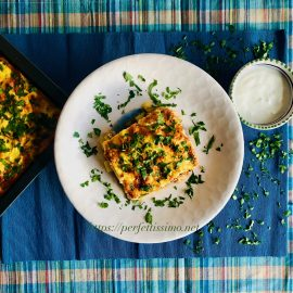 Bulgarian moussaka potatoes and minced meat