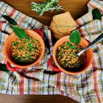 Lentil stew with rosemary