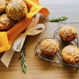 Feta cheese muffin