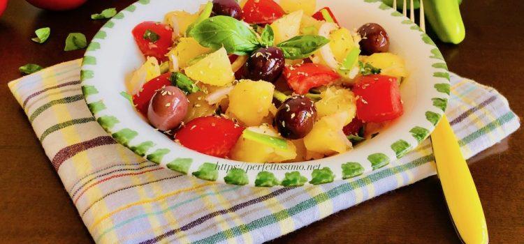 Potato and tomato salad