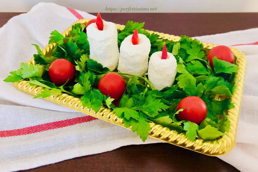 Candles appetizer
